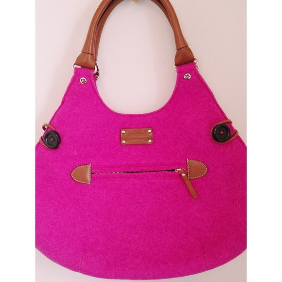 kate spade Handbags - Kate Spade College Hill Felted Wool Charlie Hobo💟